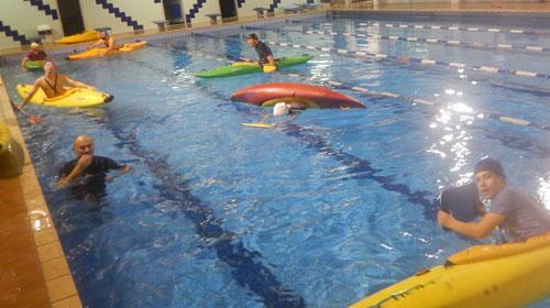 Ok adventure news for Piscina canoe